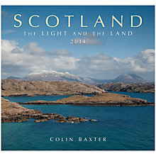 Buy Scotland The Light And The Land 2014 Calendar Online at johnlewis.com