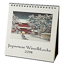 Buy Cavallini Japanese Woodblocks 2014 Calendar Online at johnlewis.com