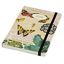 Buy Cavallini Butterflies 2014 Diary Online at johnlewis.com