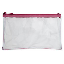Buy Helix Pencil Case, Clear Online at johnlewis.com