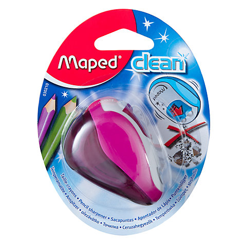 Buy Maped Clean Pencil Sharpener, Assorted Online at johnlewis.com