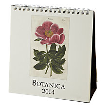 Buy Cavallini Botanica 2014 Calendar Online at johnlewis.com