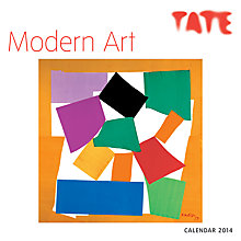 Buy Tate Modern Art 2014 Calendar Online at johnlewis.com