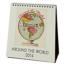 Buy Cavallini Around The World 2014 Calendar Online at johnlewis.com