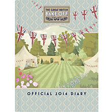 Buy Great British Bake Off Official A5 2014 Diary Online at johnlewis.com