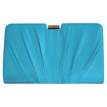 Buy Alexon Shimmer Pleated Clutch Bag Online at johnlewis.com