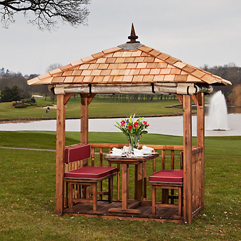 Buy Crown Pavilions Oasis 4 Seater Gazebo Online at johnlewis.com