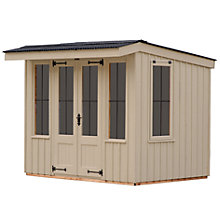 Buy National Trust by Crane Flatford Summerhouse, 2.4 x 3m Online at johnlewis.com