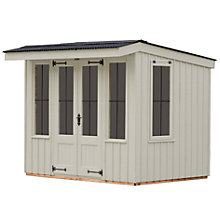 Buy National Trust by Crane Flatford Summerhouse, 2.4 x 2.4m Online at johnlewis.com