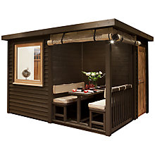 Buy Crown Pavilions Eton 4-Seater Summerhouse, 2.8 x 3.3m Online at johnlewis.com