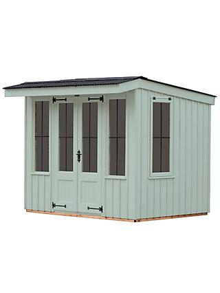 National Trust by Crane Flatford Summerhouse, 1.8 x 2.4m, FSC-Certified (Scandinavian Redwood)