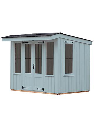 National Trust by Crane Flatford Summerhouse, 2.4 x 3m, FSC-Certified (Scandinavian Redwood)