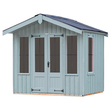 Buy national trust by crane ickworth summerhouse 1 8 x 2 for Garden shed qatar