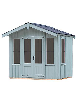 National Trust by Crane Ickworth Summerhouse, 1.8 x 2.4m, FSC-Certified (Scandinavian Redwood)