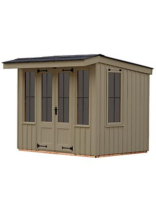 National Trust by Crane Flatford Summerhouse, 2.4 x 2.4m, FSC-Certified (Scandinavian Redwood)