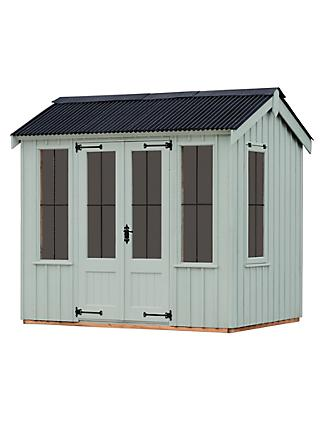 National Trust by Crane Lavenham Summerhouse, 1.8 x 2.4m, FSC-Certified (Scandinavian Redwood)