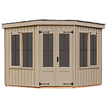 Buy Natural Trust by Crane Orford Summerhouse, 3 x 3m Online at johnlewis.com
