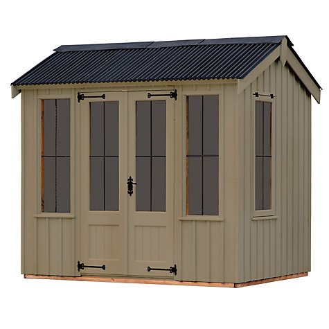 Buy National Trust by Crane Lavenham Summerhouse, 2.4 x 3m Online at johnlewis.com