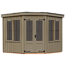 Buy Natural Trust by Crane Orford Summerhouse, 2.4 x 2.4m Online at johnlewis.com