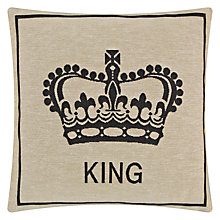 Buy John Lewis King Crown Cushion Online at johnlewis.com