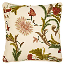 Buy John Lewis Patricia Crewel Cushion Online at johnlewis.com