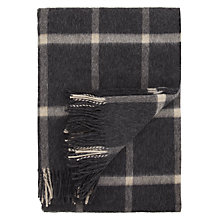Buy Bronte by Moon Massif Check Throw Online at johnlewis.com