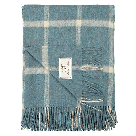 Buy Bronte Massif Check Throw Online at johnlewis.com