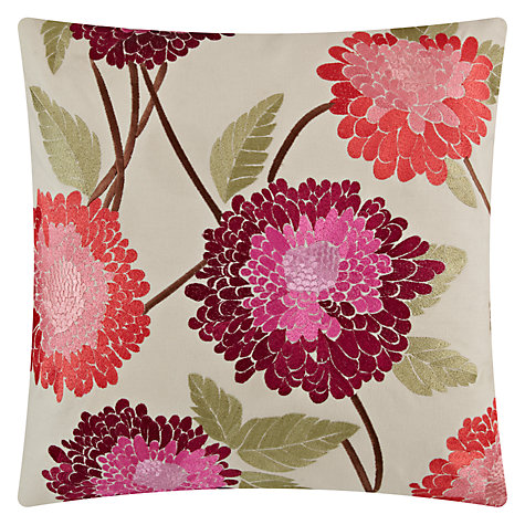 Buy John Lewis Belle Flower Cushion Online at johnlewis.com