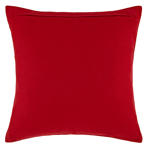Buy John Lewis Snowy Spot Cushion Online at johnlewis.com