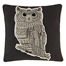 Buy John Lewis Owl Cushion Online at johnlewis.com