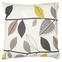 Buy John Lewis Autumn Leaves Cushion Online at johnlewis.com