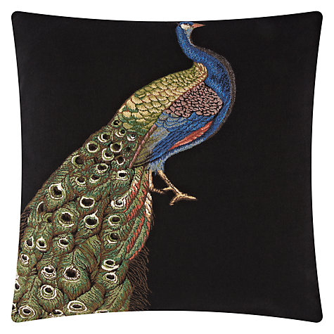 Buy John Lewis Peacock Cushion Online at johnlewis.com