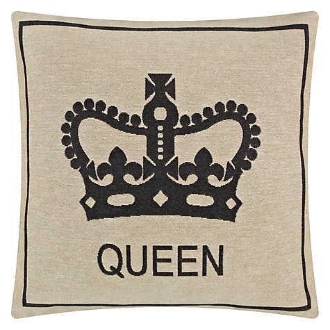 Buy John Lewis Queen Crown Cushion Online at johnlewis.com