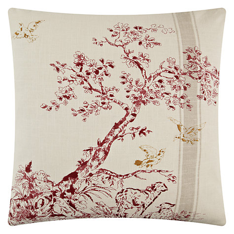 Buy John Lewis Embroidered Toile Cushion Online at johnlewis.com