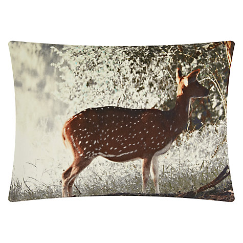 Buy John Lewis Deer Cushion Online at johnlewis.com