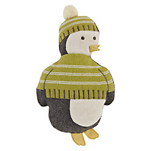 Buy John Lewis Percy Penguin 3D Cushion Online at johnlewis.com