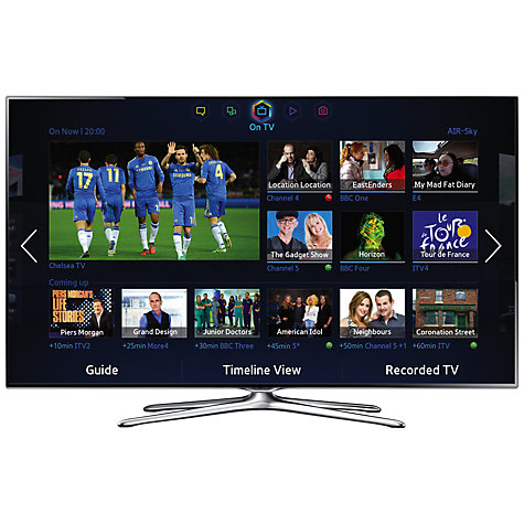 Buy Samsung UE50F6500 LED HD 1080p 3D Smart TV, 50 Inch with Freeview/Freesat HD, Voice Control and 2x 3D Glasses Online at johnlewis.com