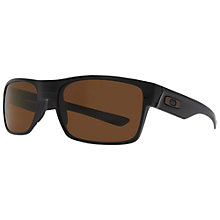 Buy Oakley OO9189 Two Face Square Acetate Sunglasses Online at johnlewis.com