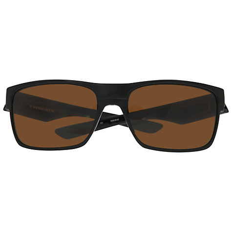 Buy Oakley OO9189 Square Acetate Sunglasses, Black Online at johnlewis.com