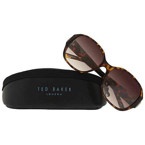 Buy Ted Baker 1254 Beverley 001 Square Sunglasses Online at johnlewis.com