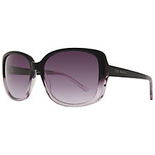Buy Ted Baker 1284 Lole Square Sunglasses Online at johnlewis.com