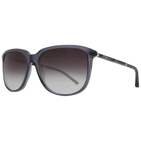 Buy Burberry BE4139 30138G D-Frame Sunglasses Online at johnlewis.com