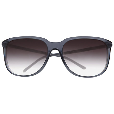 Buy Burberry BE4139 D-Frame Sunglasses, Blue Online at johnlewis.com