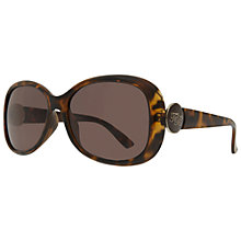 Buy Ted Baker TB1298 Eisley Oversized Oval Sunglasses Online at johnlewis.com