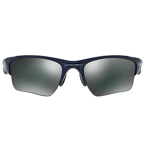 Buy Oakley OO9181 915424 Polarized Radarlock Path Sunglasses, Navy Online at johnlewis.com