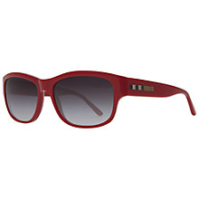 Buy Burberry BE4134 Square Sunglasses, Red Online at johnlewis.com