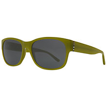 Buy Burberry BE4135 Oval Acetate Framed Sunglasses Online at johnlewis.com