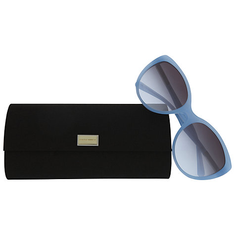 Buy Dolce & Gabbana DG4175 Round Cat's Eye Polarised Sunglasses Online at johnlewis.com