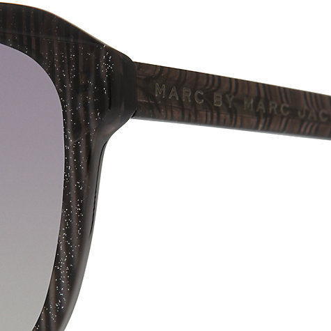 Buy Marc by Marc Jacobs MMJ254/S Square Sunglasses, Black Online at johnlewis.com