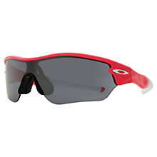 Buy Oakley OO9184-09 Radar Edge Sunglasses, Pink Online at johnlewis.com